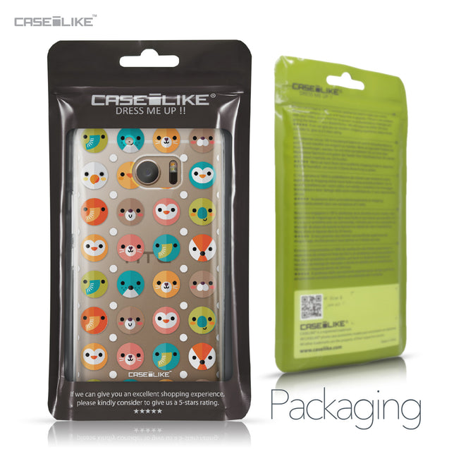 HTC 10 case Animal Cartoon 3638 Retail Packaging | CASEiLIKE.com