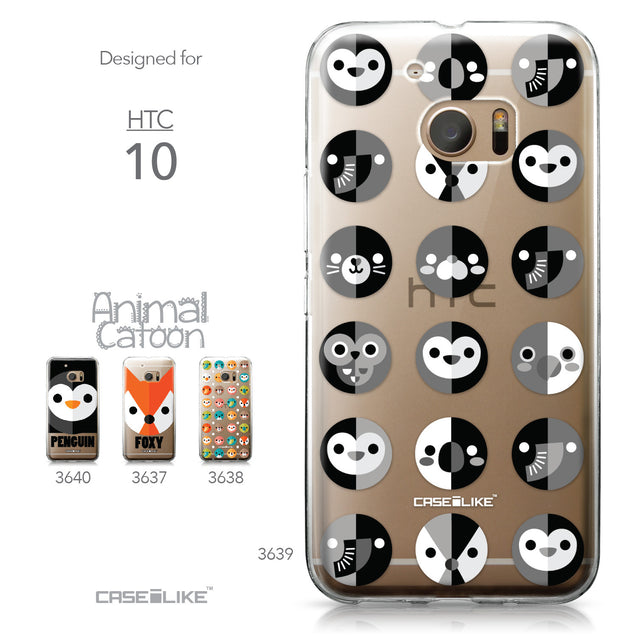 HTC 10 case Animal Cartoon 3639 Collection | CASEiLIKE.com