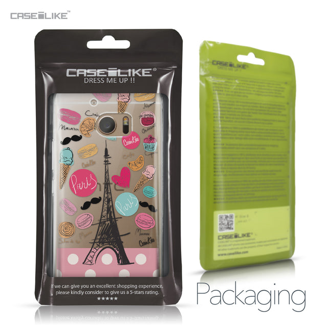 HTC 10 case Paris Holiday 3904 Retail Packaging | CASEiLIKE.com