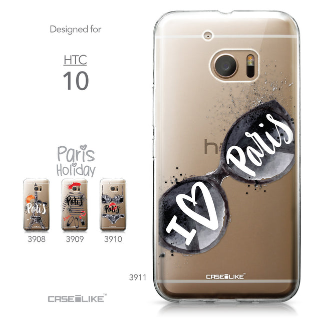 HTC 10 case Paris Holiday 3911 Collection | CASEiLIKE.com