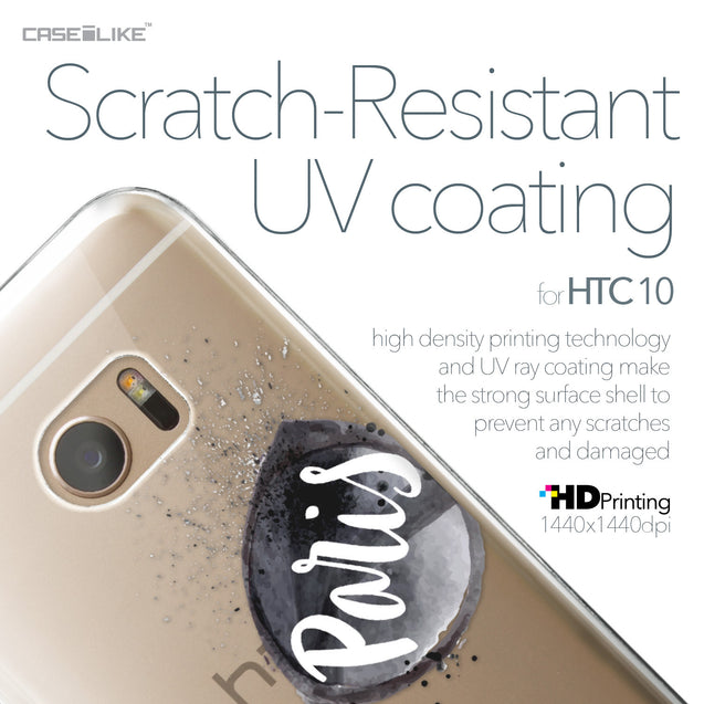HTC 10 case Paris Holiday 3911 with UV-Coating Scratch-Resistant Case | CASEiLIKE.com