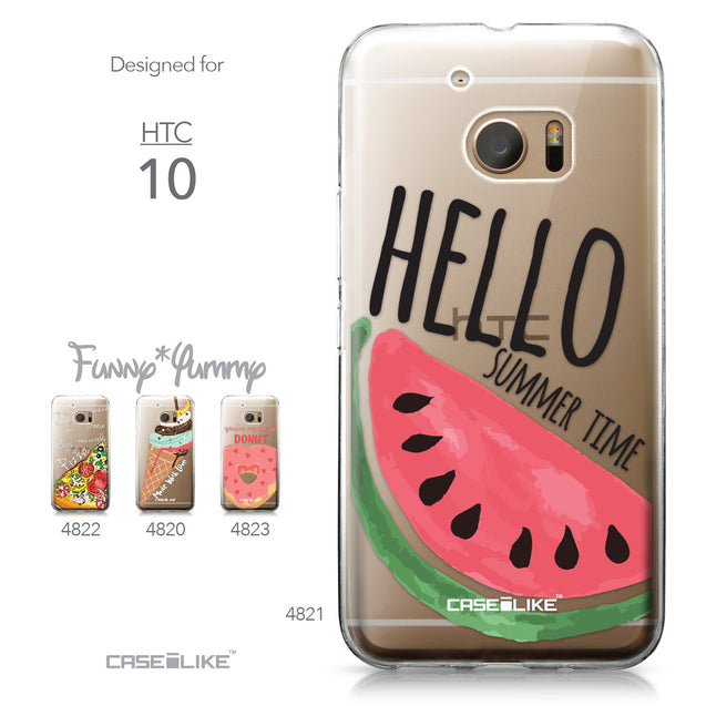 HTC 10 case Water Melon 4821 Collection | CASEiLIKE.com