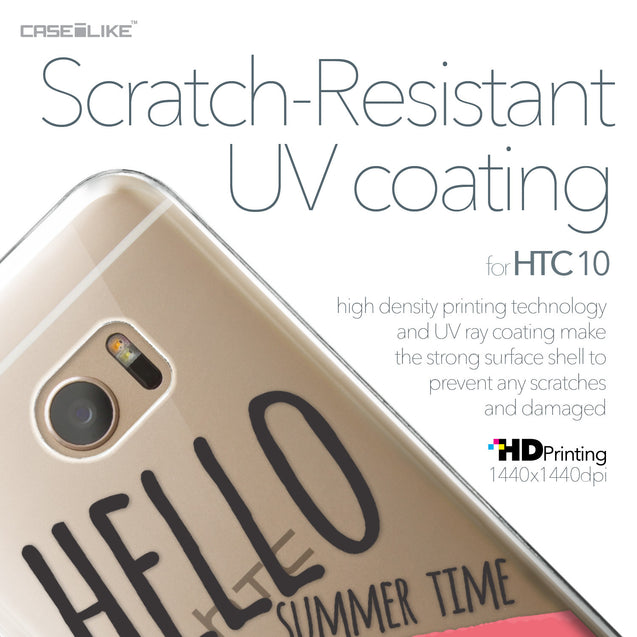 HTC 10 case Water Melon 4821 with UV-Coating Scratch-Resistant Case | CASEiLIKE.com