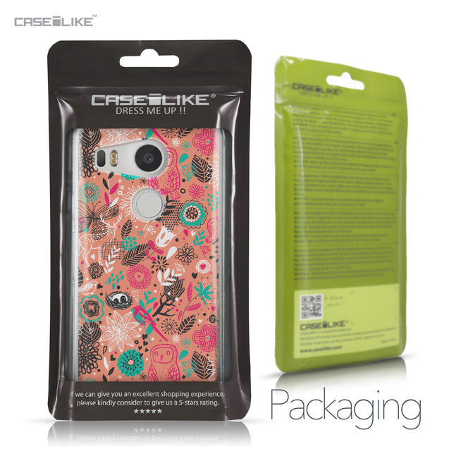 LG Google Nexus 5X case Spring Forest Pink 2242 Retail Packaging | CASEiLIKE.com