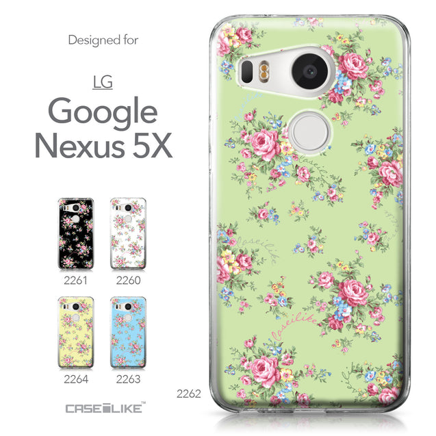LG Google Nexus 5X case Floral Rose Classic 2262 Collection | CASEiLIKE.com