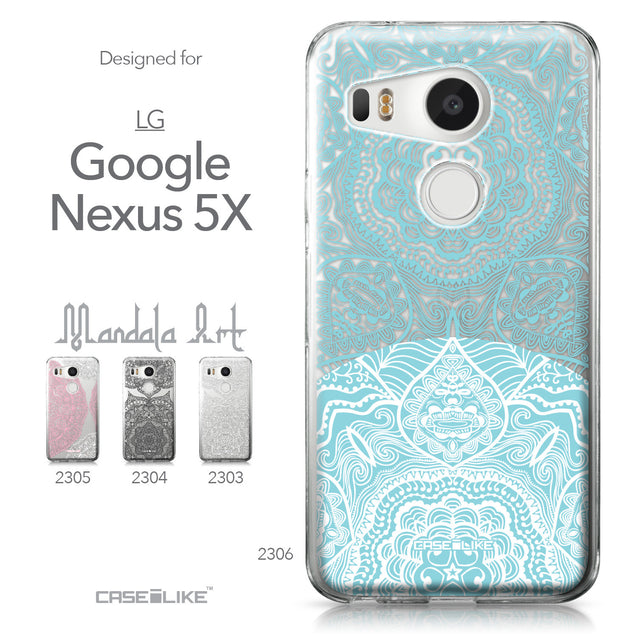 LG Google Nexus 5X case Mandala Art 2306 Collection | CASEiLIKE.com