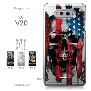 LG V20 case Art of Skull 2532 Collection | CASEiLIKE.com