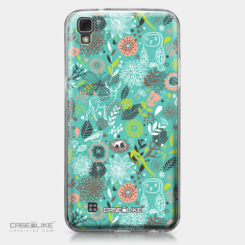 LG X Power case Spring Forest Turquoise 2245 | CASEiLIKE.com
