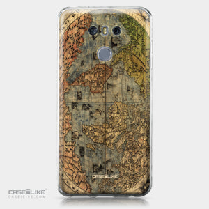 LG G6 case World Map Vintage 4608 | CASEiLIKE.com