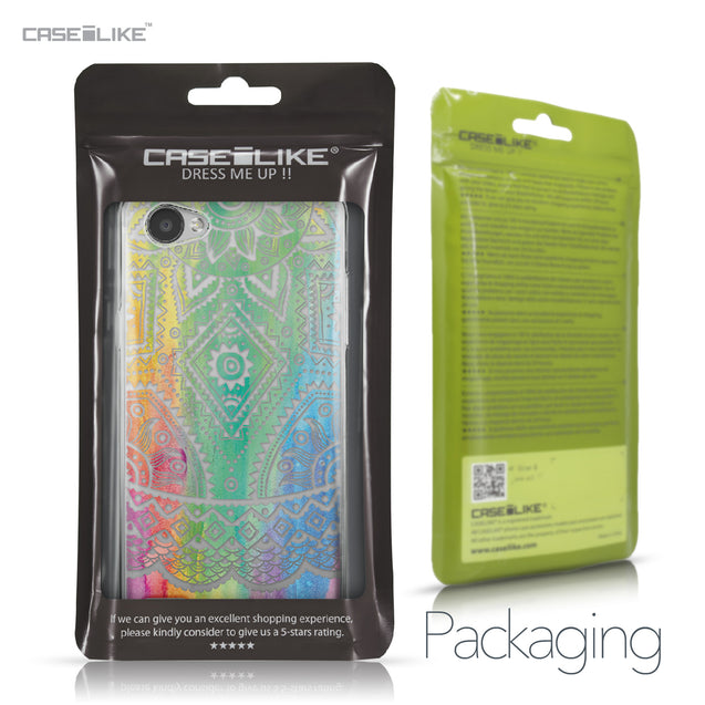 LG Q6 case Indian Line Art 2064 Retail Packaging | CASEiLIKE.com