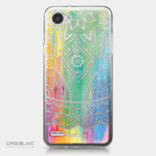 LG Q6 case Indian Line Art 2064 | CASEiLIKE.com
