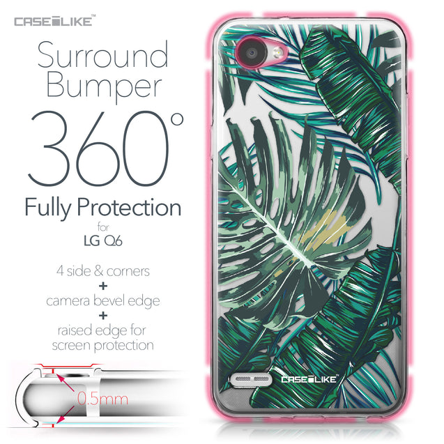 LG Q6 case Tropical Palm Tree 2238 Bumper Case Protection | CASEiLIKE.com