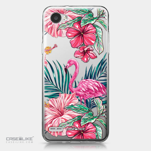 LG Q6 case Tropical Flamingo 2239 | CASEiLIKE.com