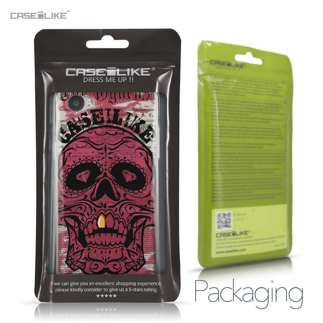 LG Q6 case Art of Skull 2523 Retail Packaging | CASEiLIKE.com