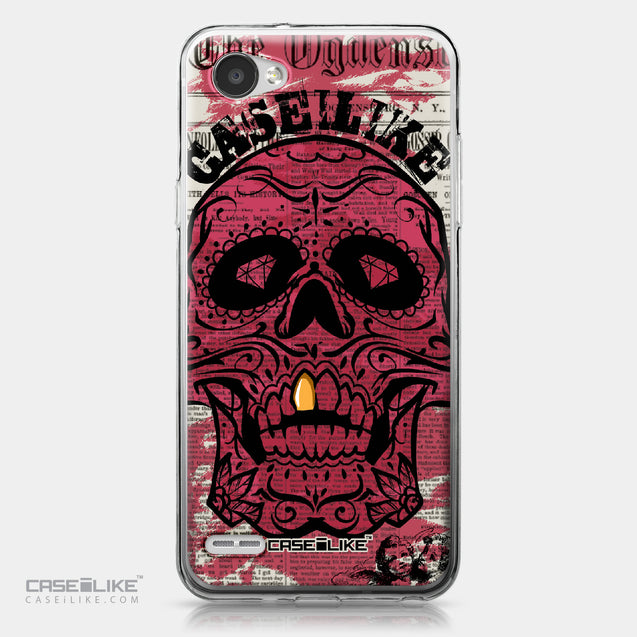 LG Q6 case Art of Skull 2523 | CASEiLIKE.com