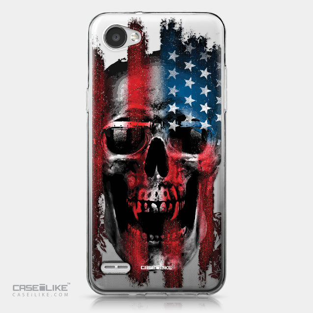 LG Q6 case Art of Skull 2532 | CASEiLIKE.com