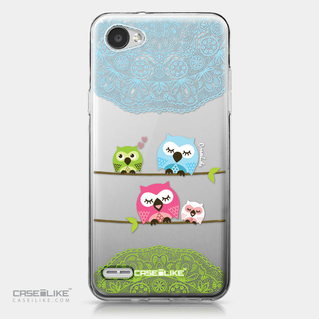 LG Q6 case Owl Graphic Design 3318 | CASEiLIKE.com