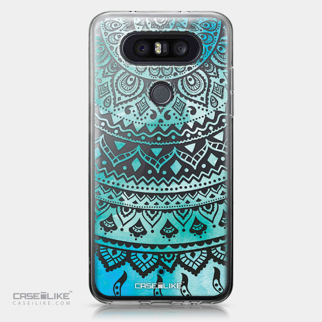 LG Q8 case Indian Line Art 2066 | CASEiLIKE.com