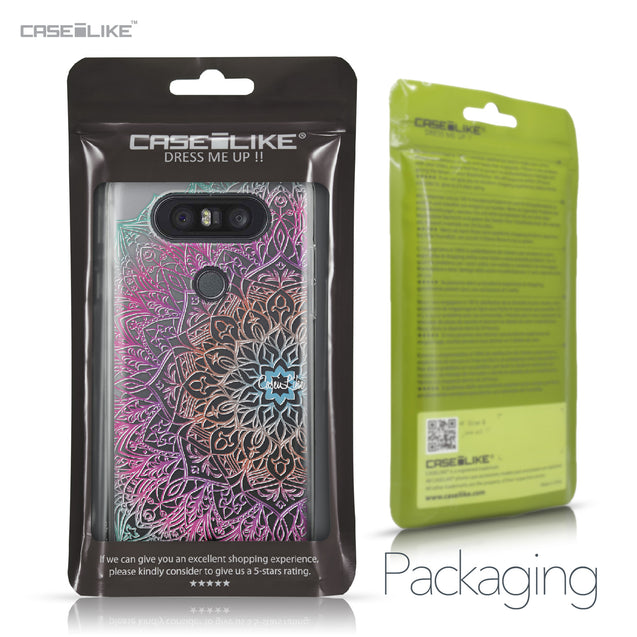 LG Q8 case Mandala Art 2090 Retail Packaging | CASEiLIKE.com