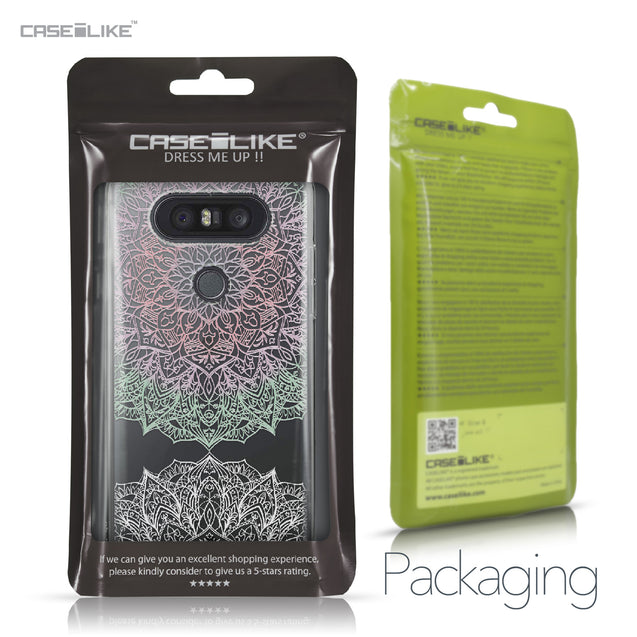 LG Q8 case Mandala Art 2092 Retail Packaging | CASEiLIKE.com