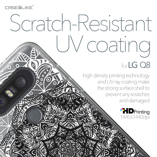 LG Q8 case Mandala Art 2097 with UV-Coating Scratch-Resistant Case | CASEiLIKE.com