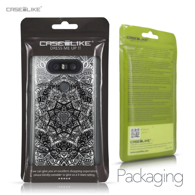 LG Q8 case Mandala Art 2097 Retail Packaging | CASEiLIKE.com