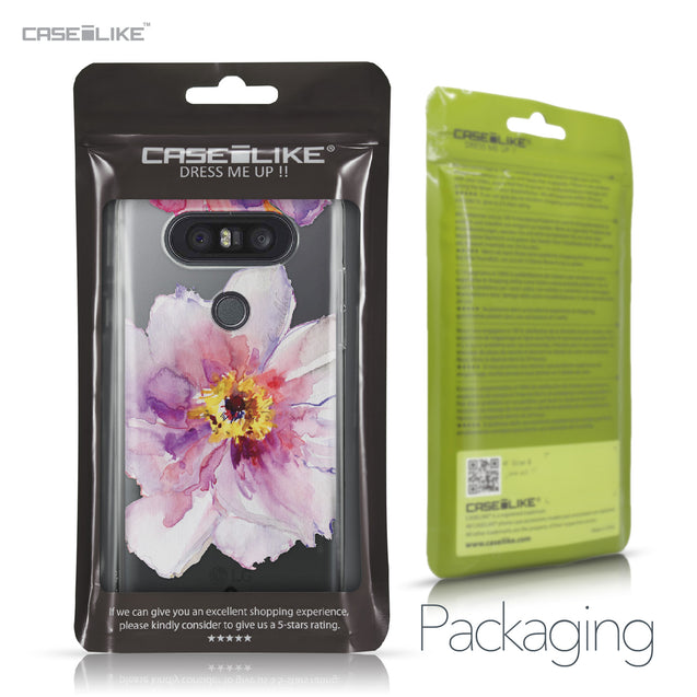 LG Q8 case Watercolor Floral 2231 Retail Packaging | CASEiLIKE.com