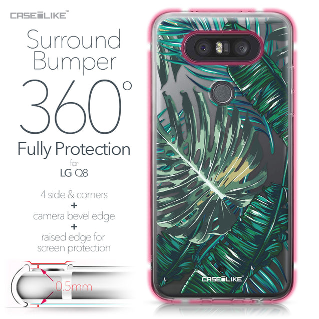 LG Q8 case Tropical Palm Tree 2238 Bumper Case Protection | CASEiLIKE.com