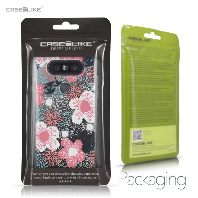 LG Q8 case Japanese Floral 2255 Retail Packaging | CASEiLIKE.com