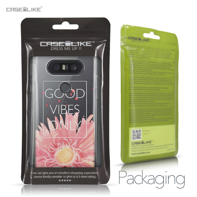 LG Q8 case Gerbera 2258 Retail Packaging | CASEiLIKE.com