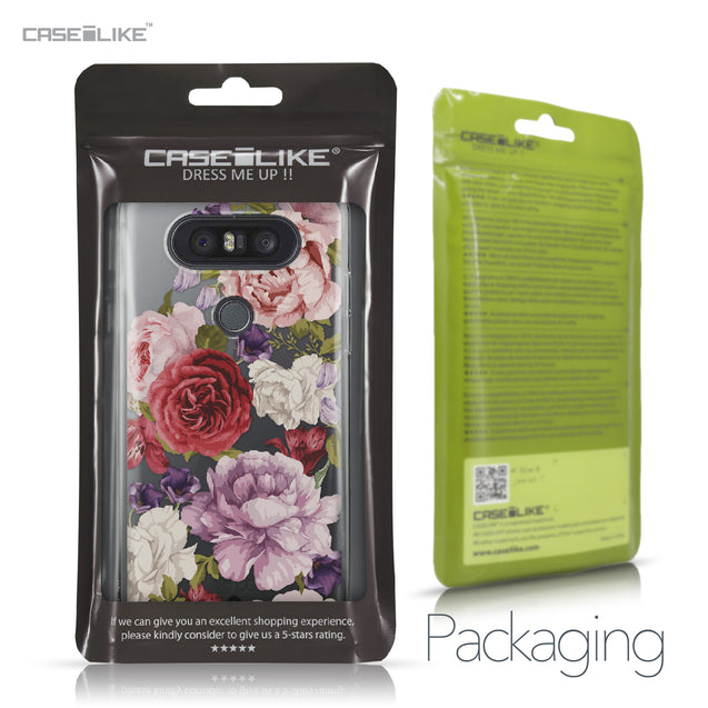 LG Q8 case Mixed Roses 2259 Retail Packaging | CASEiLIKE.com