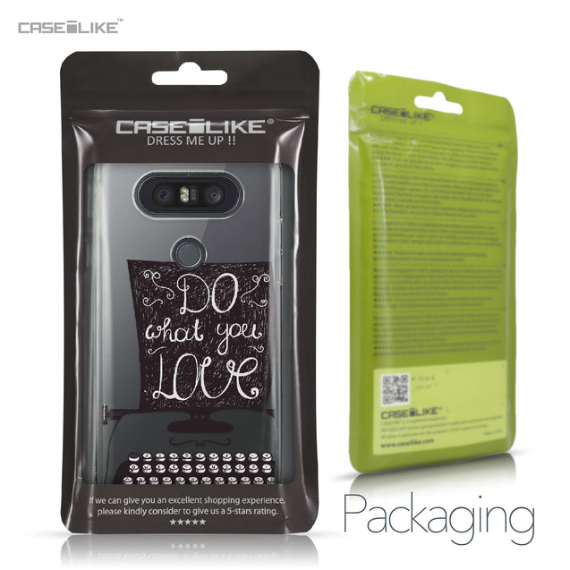 LG Q8 case Quote 2400 Retail Packaging | CASEiLIKE.com
