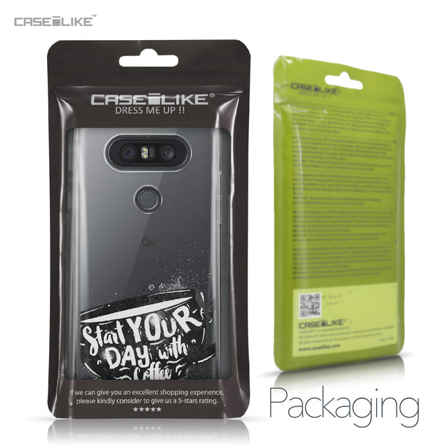 LG Q8 case Quote 2402 Retail Packaging | CASEiLIKE.com