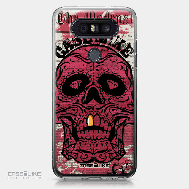 LG Q8 case Art of Skull 2523 | CASEiLIKE.com