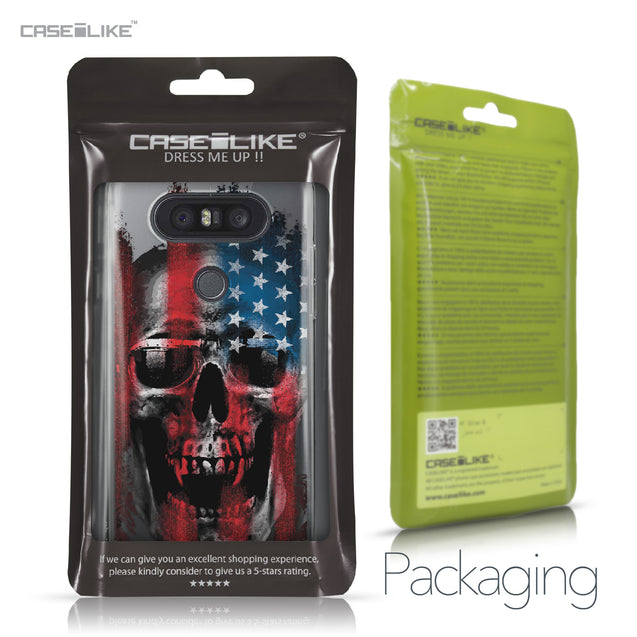 LG Q8 case Art of Skull 2532 Retail Packaging | CASEiLIKE.com