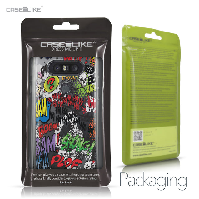 LG Q8 case Comic Captions 2914 Retail Packaging | CASEiLIKE.com