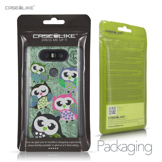 LG Q8 case Owl Graphic Design 3313 Retail Packaging | CASEiLIKE.com