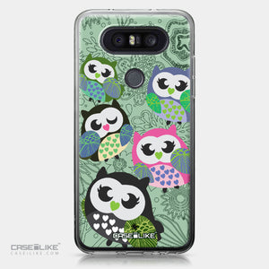 LG Q8 case Owl Graphic Design 3313 | CASEiLIKE.com