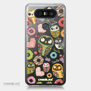 LG Q8 case Owl Graphic Design 3315 | CASEiLIKE.com
