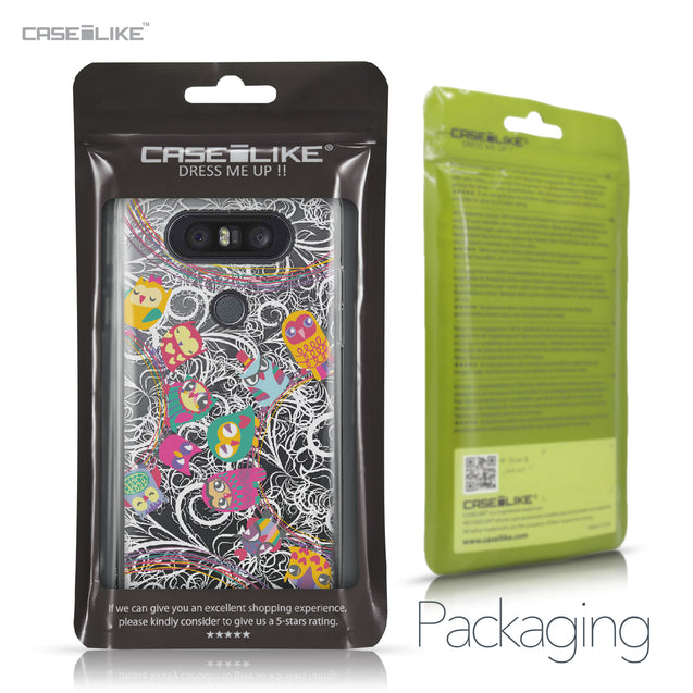 LG Q8 case Owl Graphic Design 3316 Retail Packaging | CASEiLIKE.com