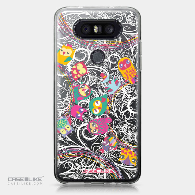 LG Q8 case Owl Graphic Design 3316 | CASEiLIKE.com