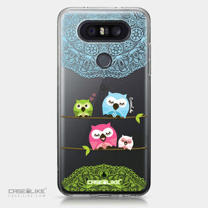 LG Q8 case Owl Graphic Design 3318 | CASEiLIKE.com