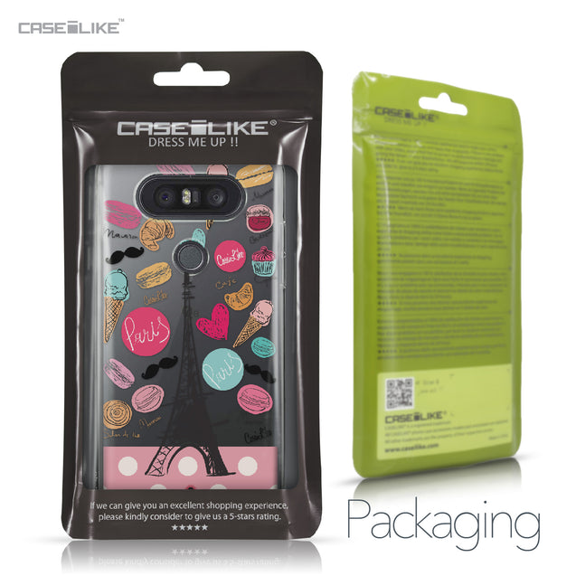 LG Q8 case Paris Holiday 3904 Retail Packaging | CASEiLIKE.com