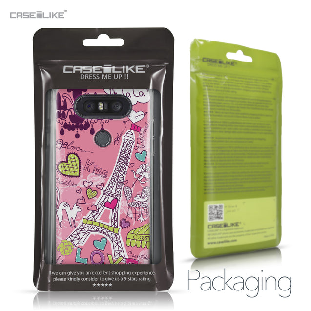 LG Q8 case Paris Holiday 3905 Retail Packaging | CASEiLIKE.com