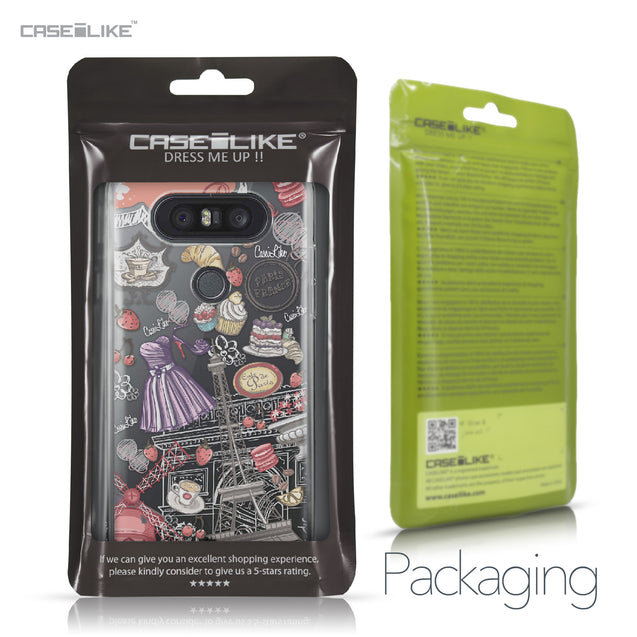 LG Q8 case Paris Holiday 3907 Retail Packaging | CASEiLIKE.com
