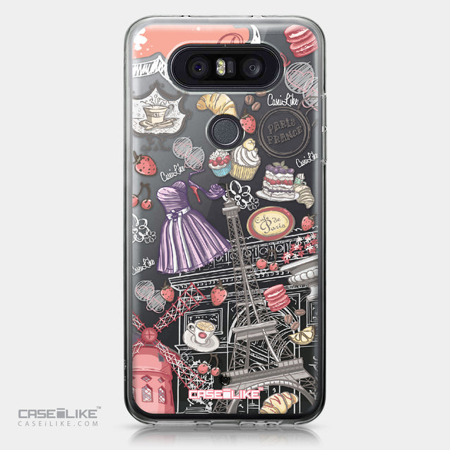 LG Q8 case Paris Holiday 3907 | CASEiLIKE.com