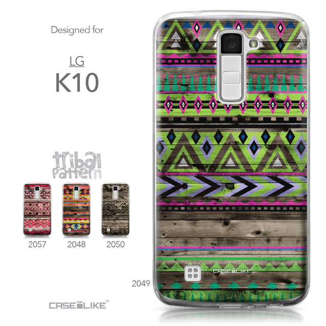 LG K10 case Indian Tribal Theme Pattern 2049 Collection | CASEiLIKE.com