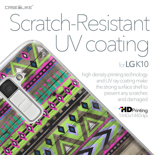 LG K10 case Indian Tribal Theme Pattern 2049 with UV-Coating Scratch-Resistant Case | CASEiLIKE.com