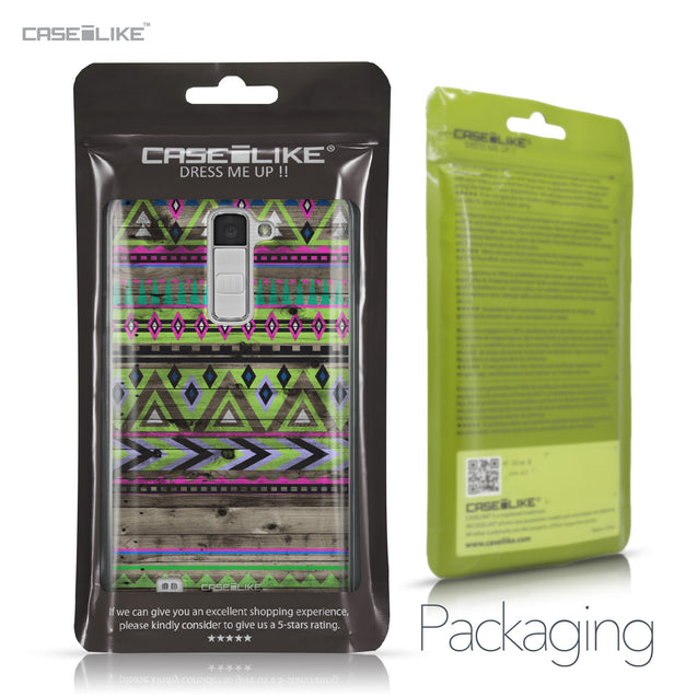 LG K10 case Indian Tribal Theme Pattern 2049 Retail Packaging | CASEiLIKE.com