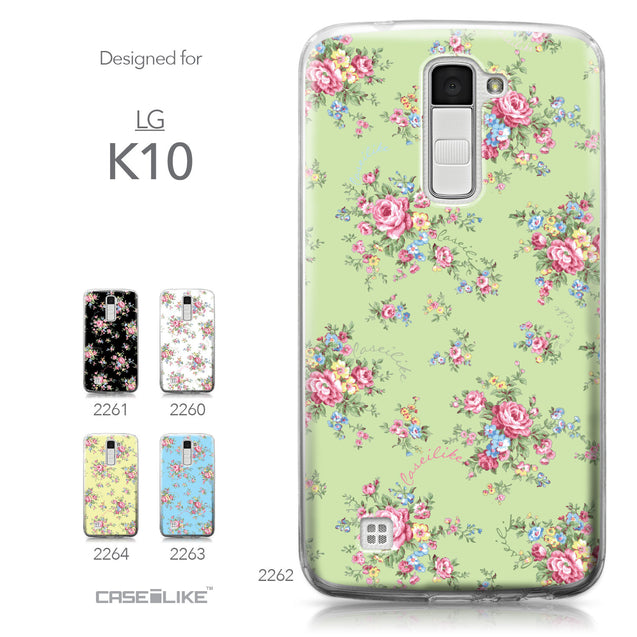 LG K10 case Floral Rose Classic 2262 Collection | CASEiLIKE.com